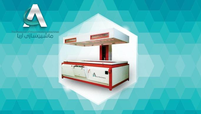 دستگاه پرس وکیوم آسانسوری | ماشین سازی آریا